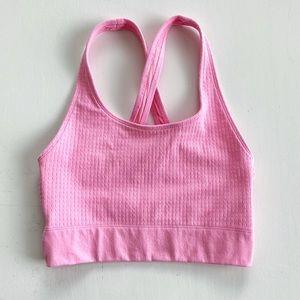Pink Ella Sculptknit Sports Bra